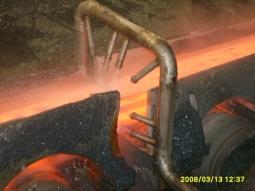 Su Jeti ile Demir Çelik Sektöründe Otomatik Tufal Temizleme