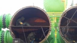 Su Jeti ile Jeotermal Santralde Kondenser Temizliği